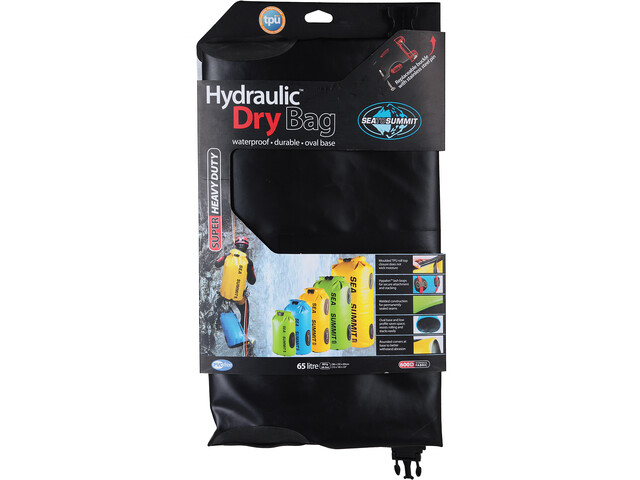 Sea to Summit Hydraulic Sac de compression étanche 65L, black